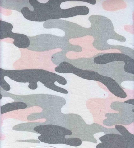 Blush Camo French Terry