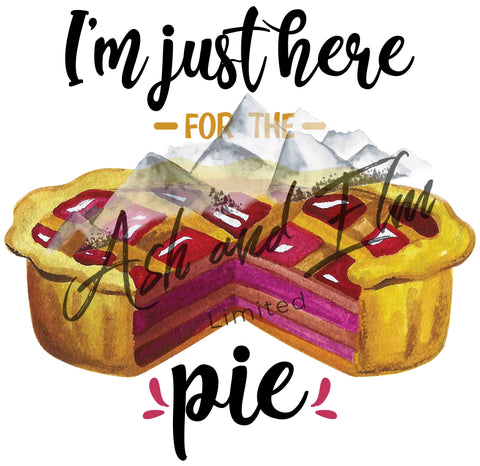Just Here for the Pie Panel
