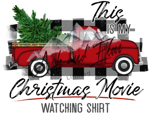 My Christmas Movie Shirt Sale Panel