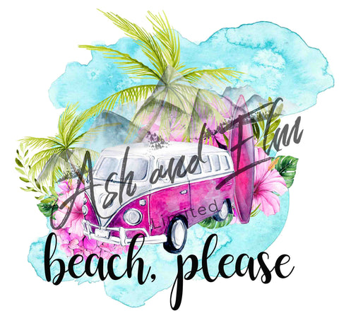 Beach, Please Panel