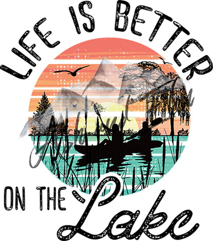 Life is Better on the Lake Panel
