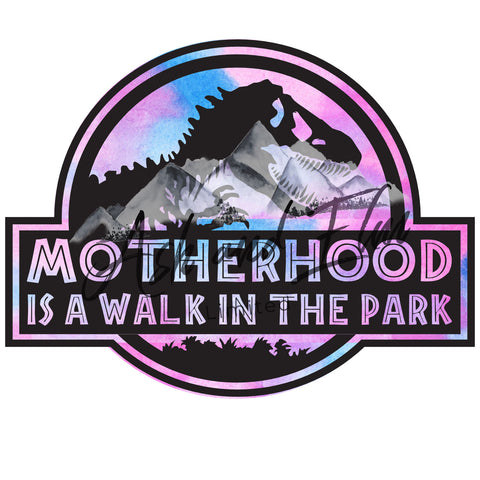 Motherhood's a Walk in the Park Panel