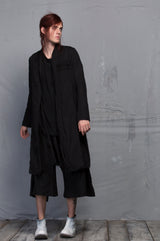 LAMA COAT BLACK