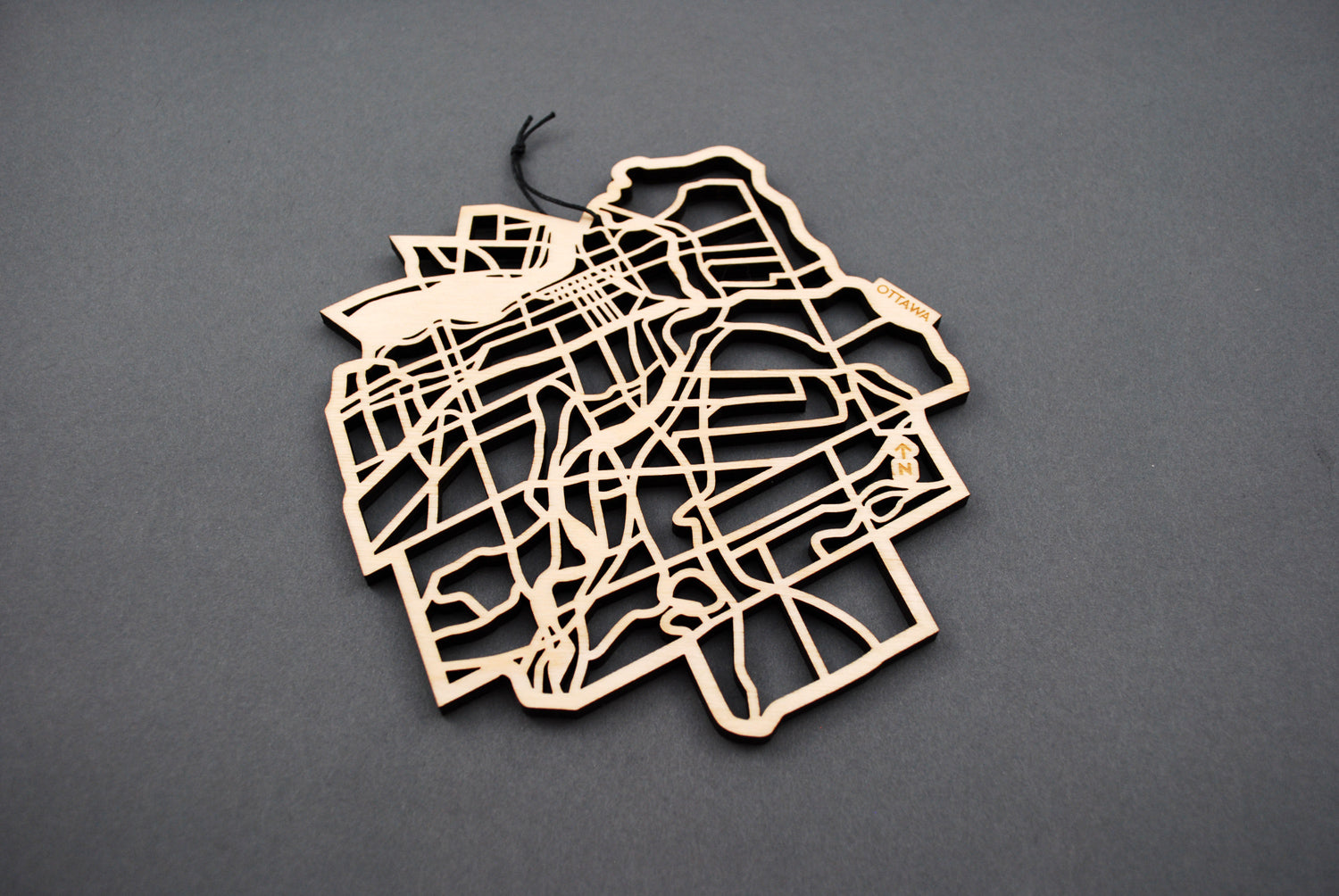 Ottawa Map Trivet