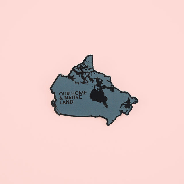 Canada Map Pin (English)