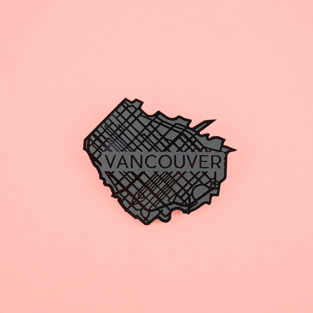 Vancouver Map Pin