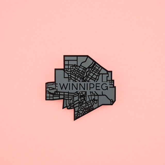 Winnipeg Map Pin