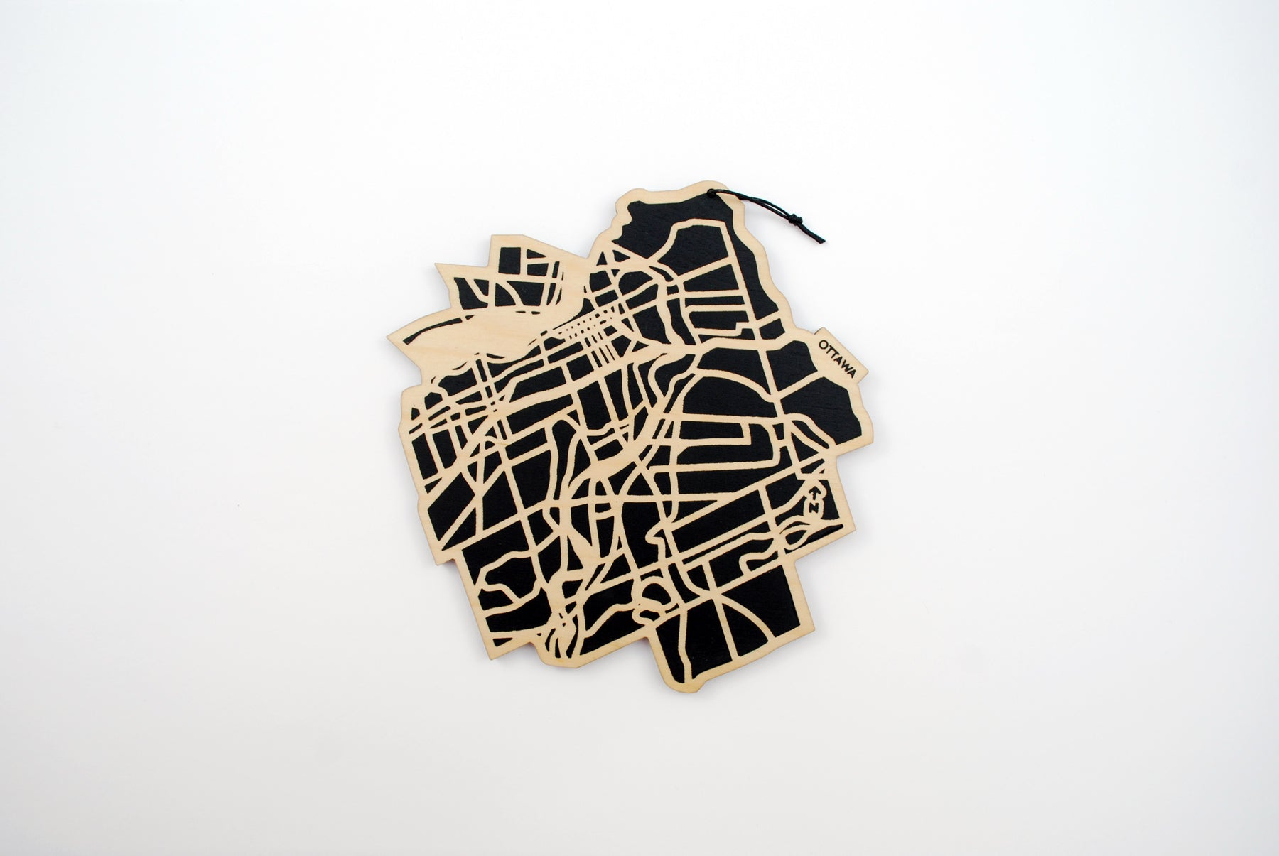 Ottawa Map Trivet (Printed)