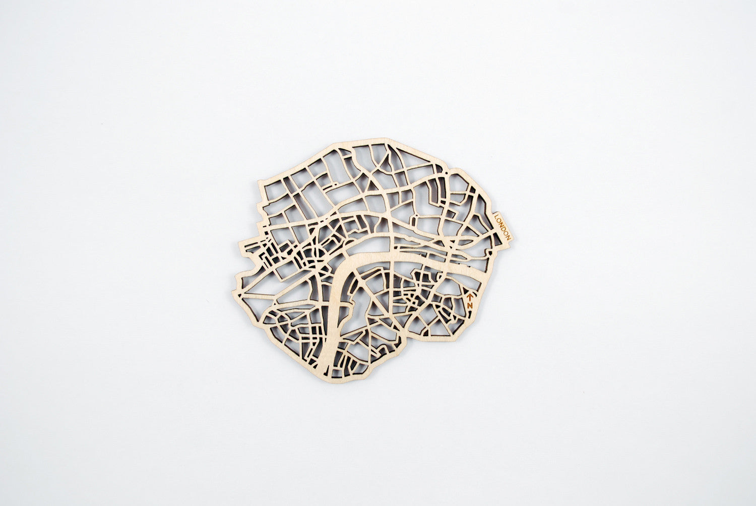 London Map Coasters (set of 4)