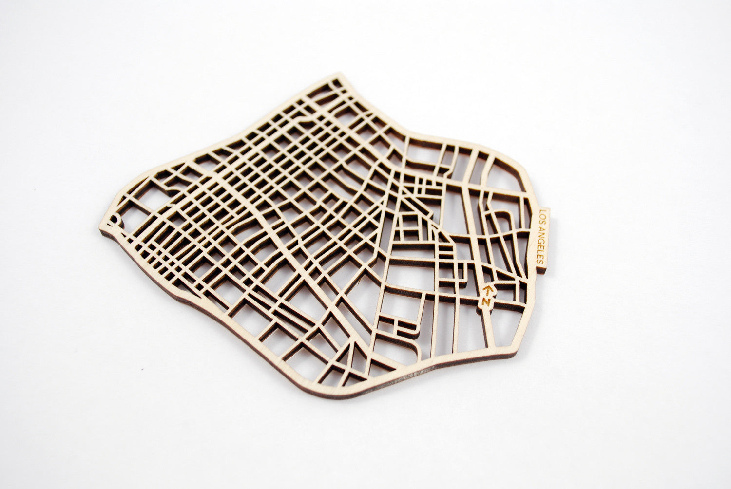 Los Angeles Map Coasters (set of 4)