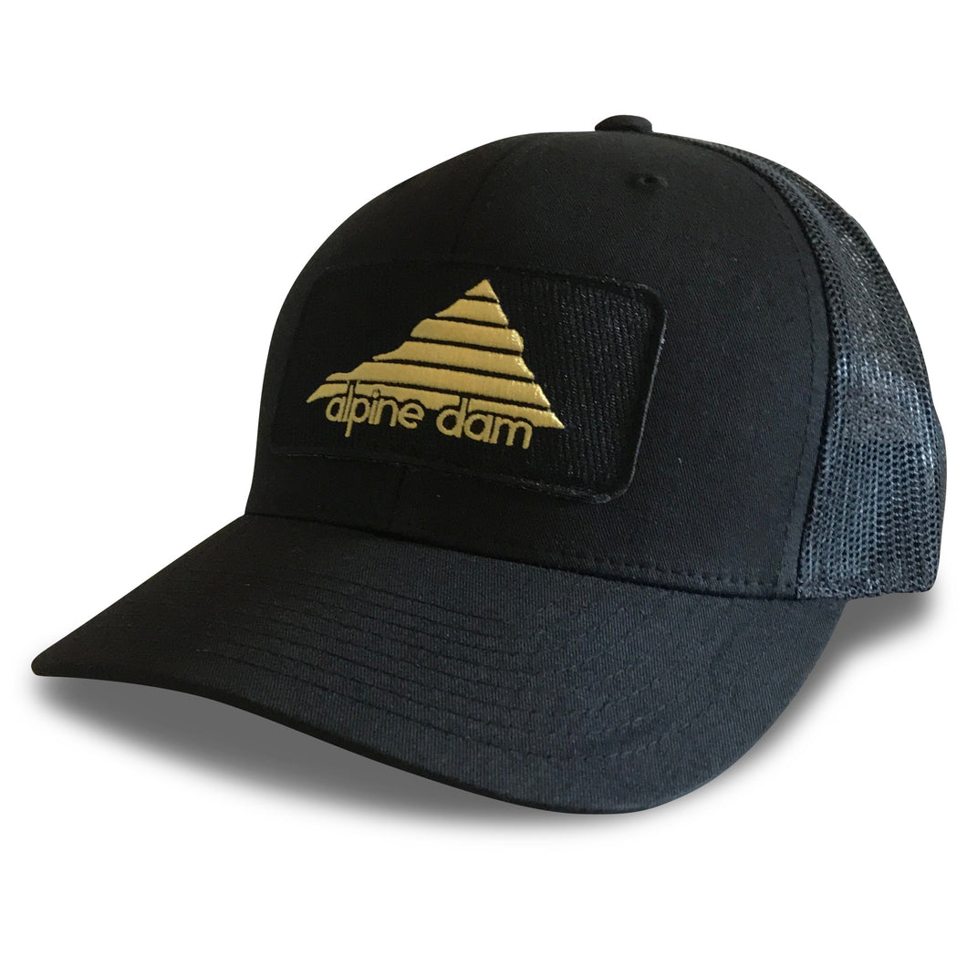 Alpine Dam, Black Jack, Trucker Hat