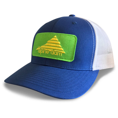 Alpine Dam, Tahoe Blue, Trucker Hat
