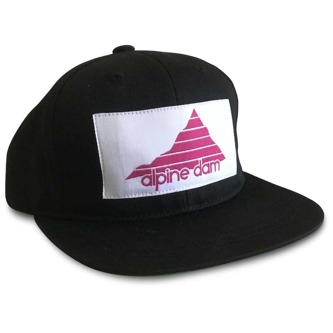 Alpine Dam, Panoramic, snap back (sm kids)