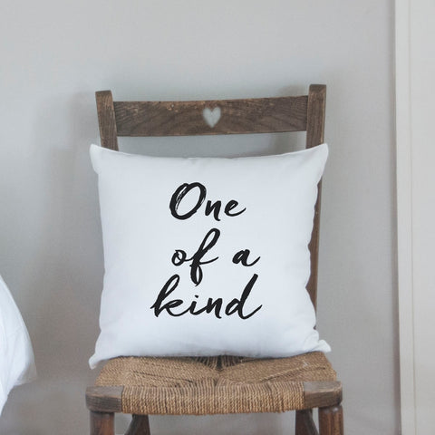 ONE OF A KIND CUSHION - Teal and Gold