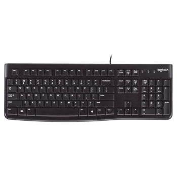 TECLADO USB, PC/SERVER, NEGRO  LOGITECH   920-004422