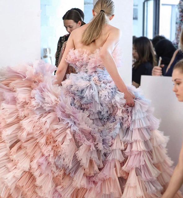 Girl & a Serious Dream for Ralph & Russo Spring summer 2019 Couture Show