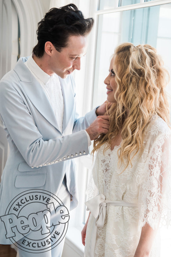 Tara Lipinski's Romantic Charleston Wedding