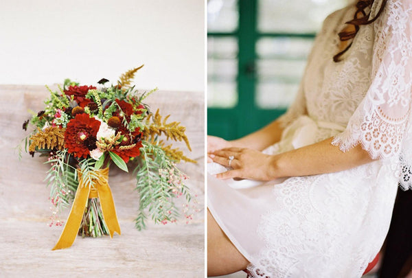 Ojai, California Real wedding featured on Style me pretty