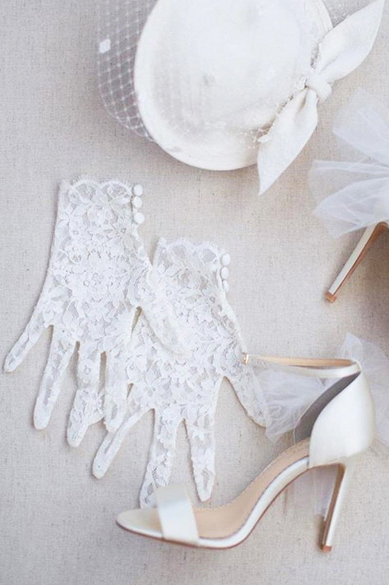 CATHERINE COUTURE FRENCH LACE GLOVES
