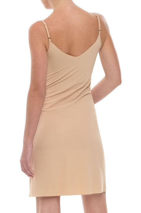 Commando Tailored Fitted Cami Slip Dress in Nude or Black