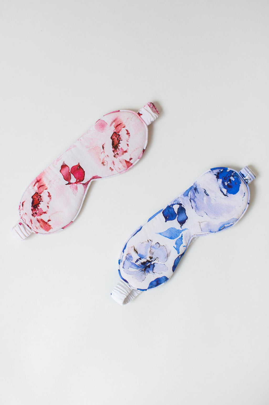 Botanical love Floral print sleep mask