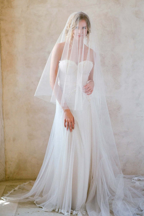 ETHEREAL ILLUSION CATHEDRAL LENGTH VEIL - STYLE 400