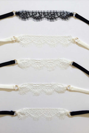 French Lace choker