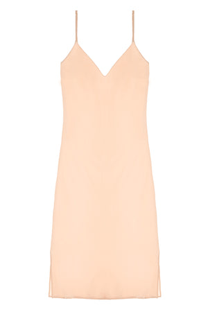 Heavenly Bias cut Midi Silk Slip in Ivory, Blush pink, Gold or Black