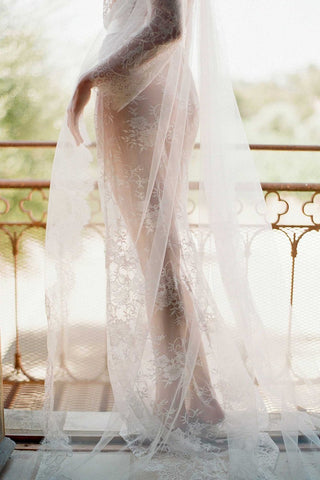 Ethereal Cathedral length veil wide - style 400W