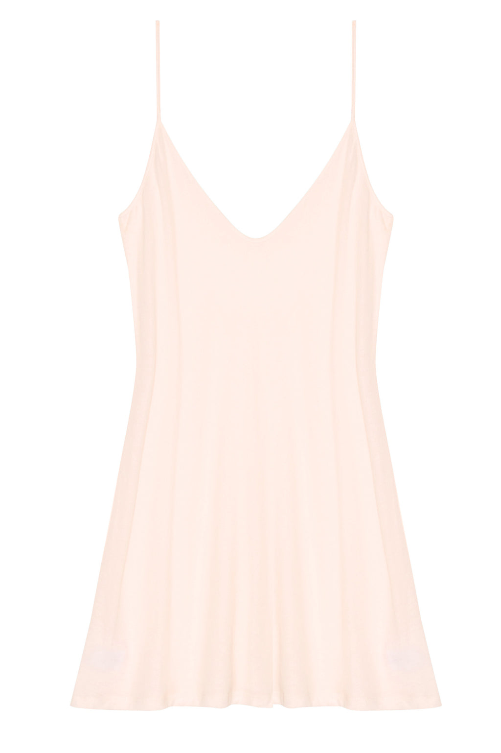 Lounge Pima Cotton Slip in blush pink