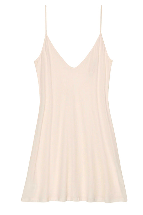 Lounge Pima Cotton Slip In Nude - Style A12