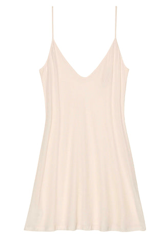 Lounge Pima Cotton Slip in blush pink - style A12