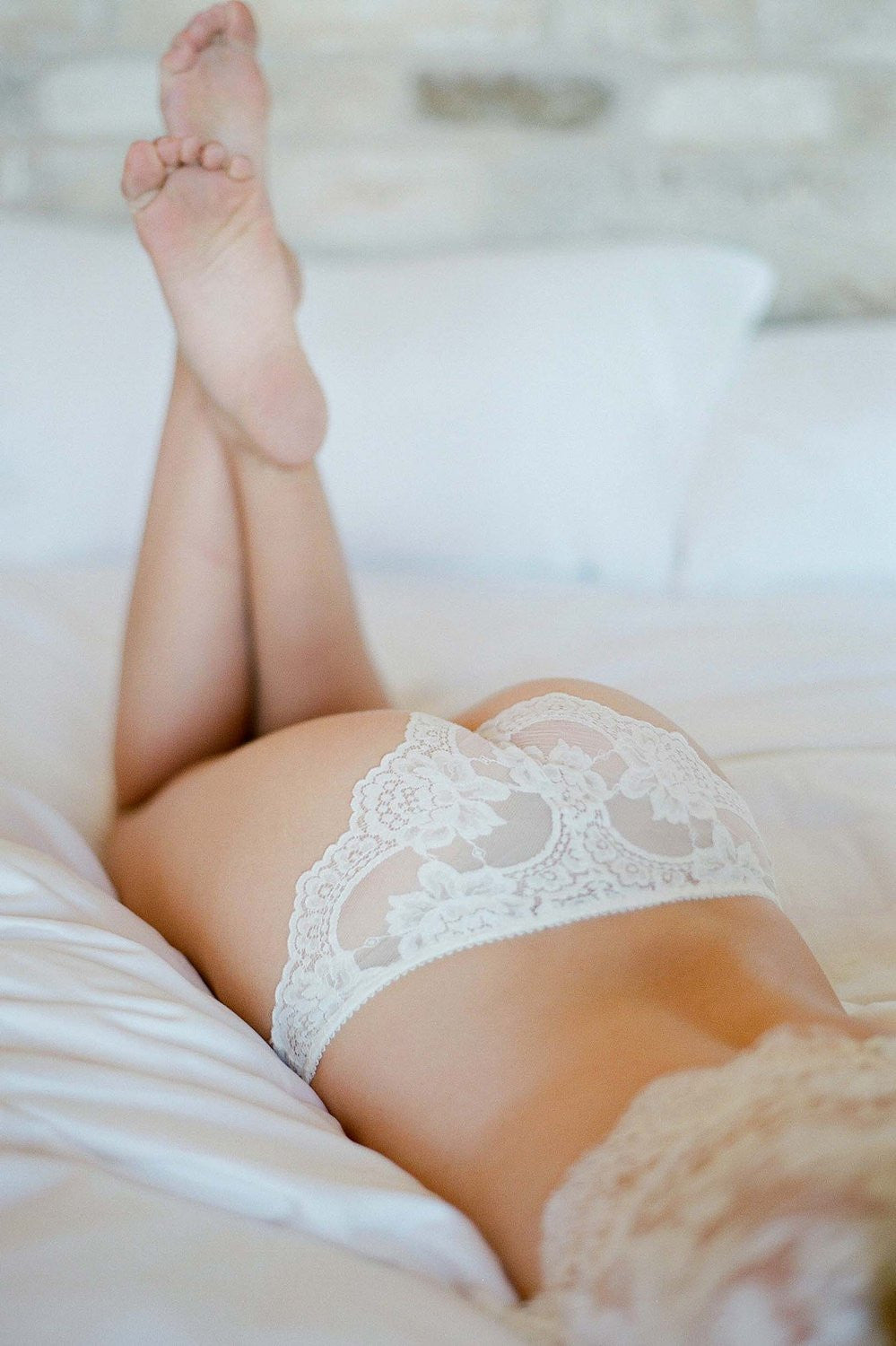Rosa Scalloped French lace Panties briefs
