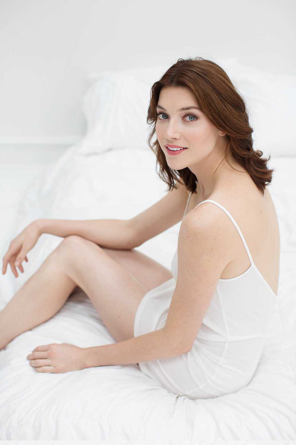 SOFT PIMA COTTON SLIP IN IVORY - STYLE A12