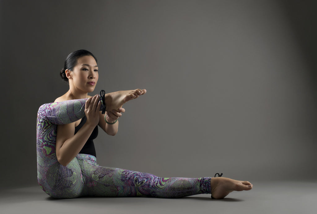 Fractal Acid Yoga Leggings from Kaa Yoga