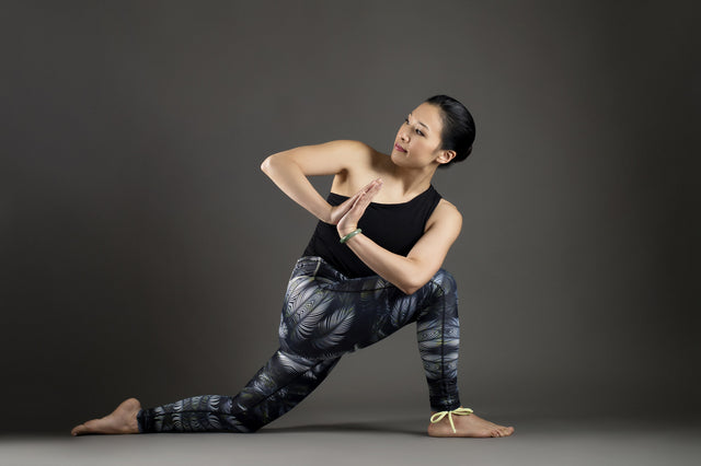 Tribal Forest Yoga Leggings from Kaa Yoga