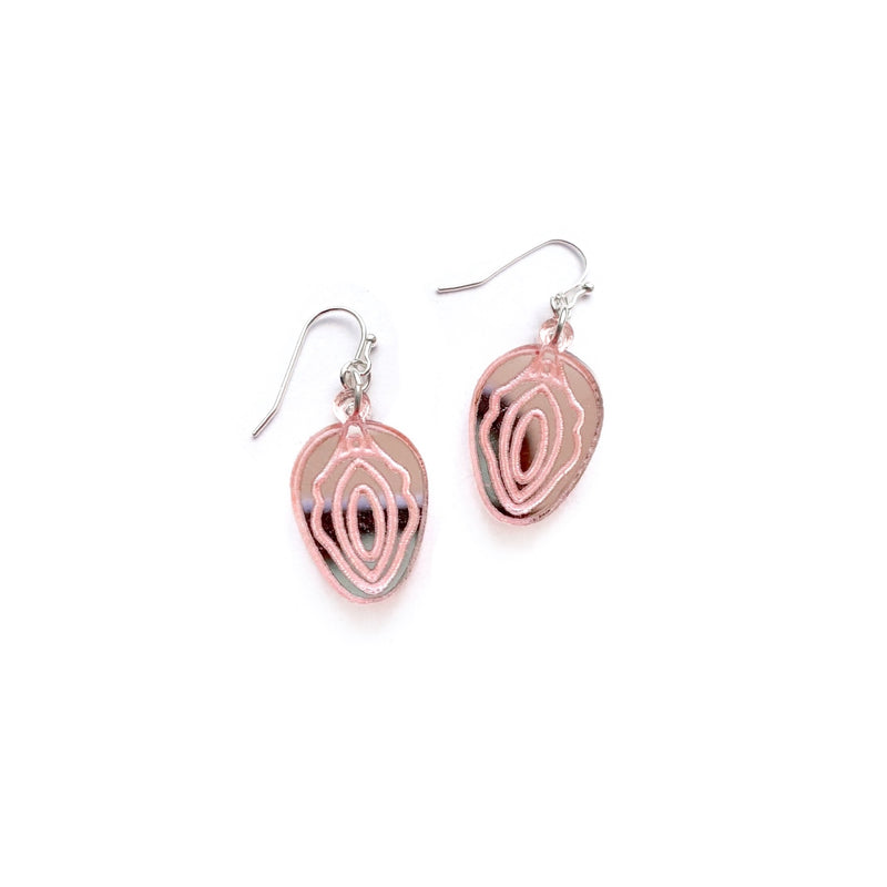 *PREORDER* VAG - Blush Mirrored Dangles