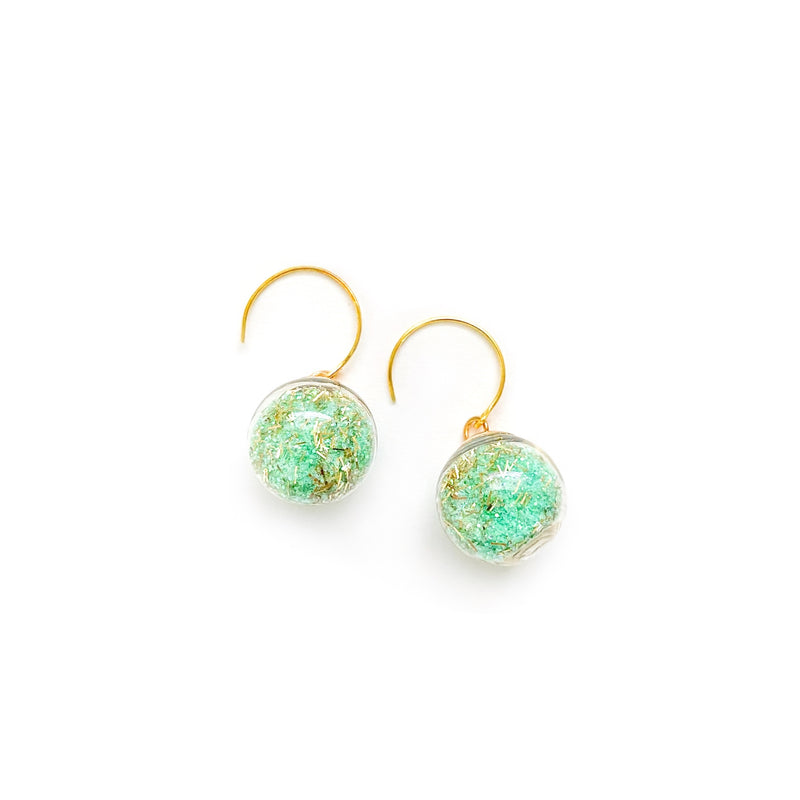 Mint & Gold - Shaker Globe Drops