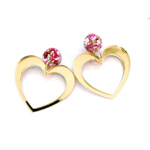 Love Potion Gold - Stud Drops