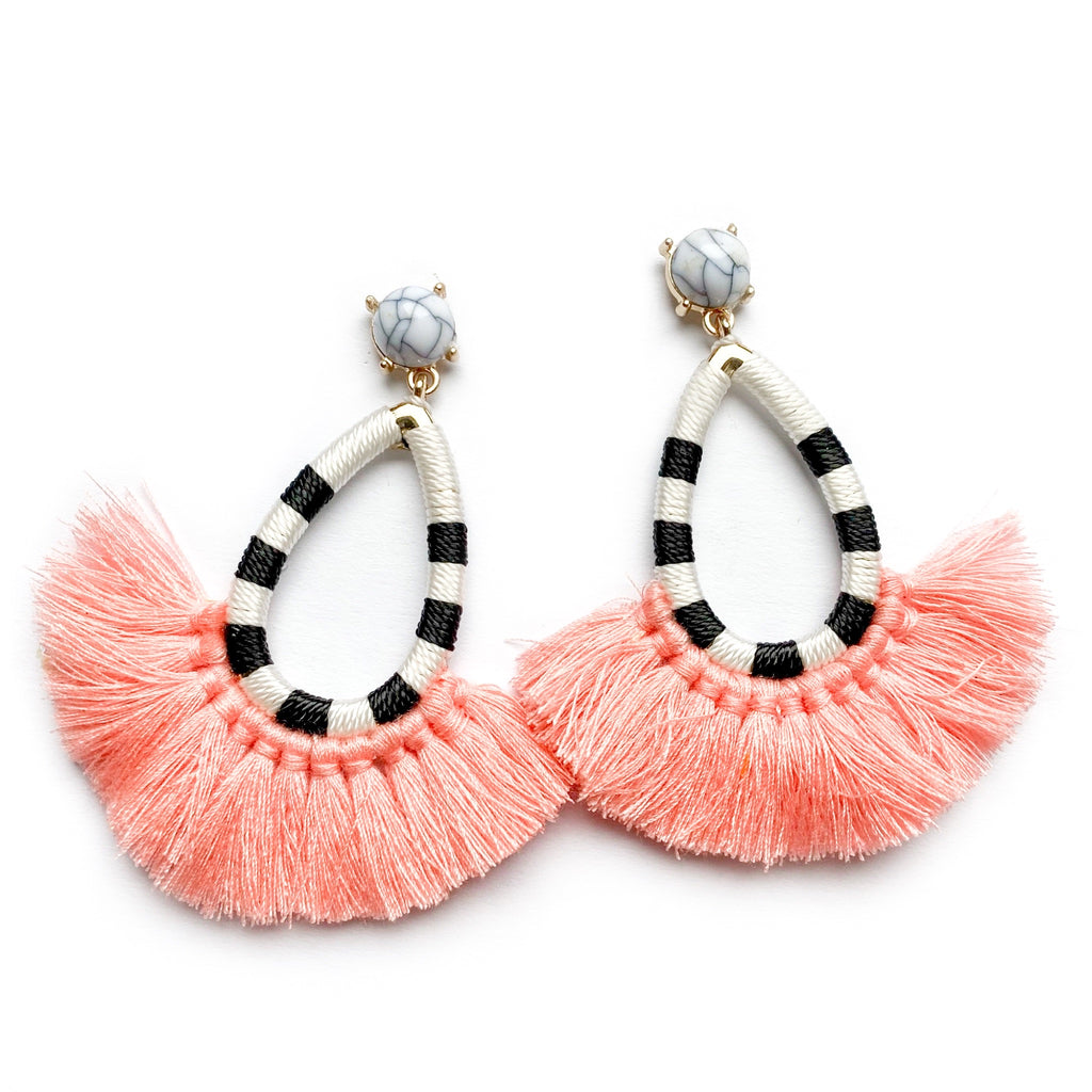 Call Me - Teardrop Fringe Dangles