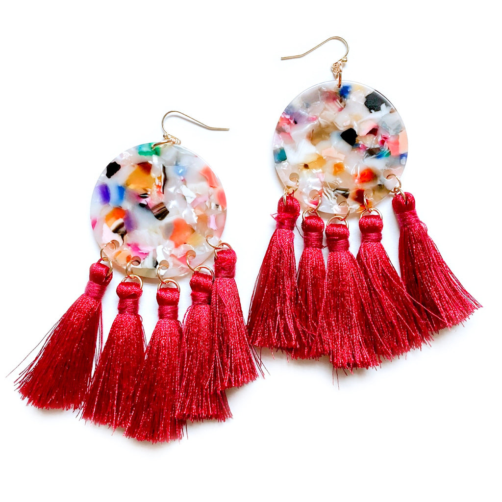 Good As Hell - Geo Tassel Dangles