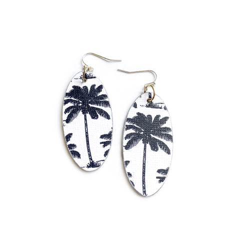 Palm Trees - Oval Timbers