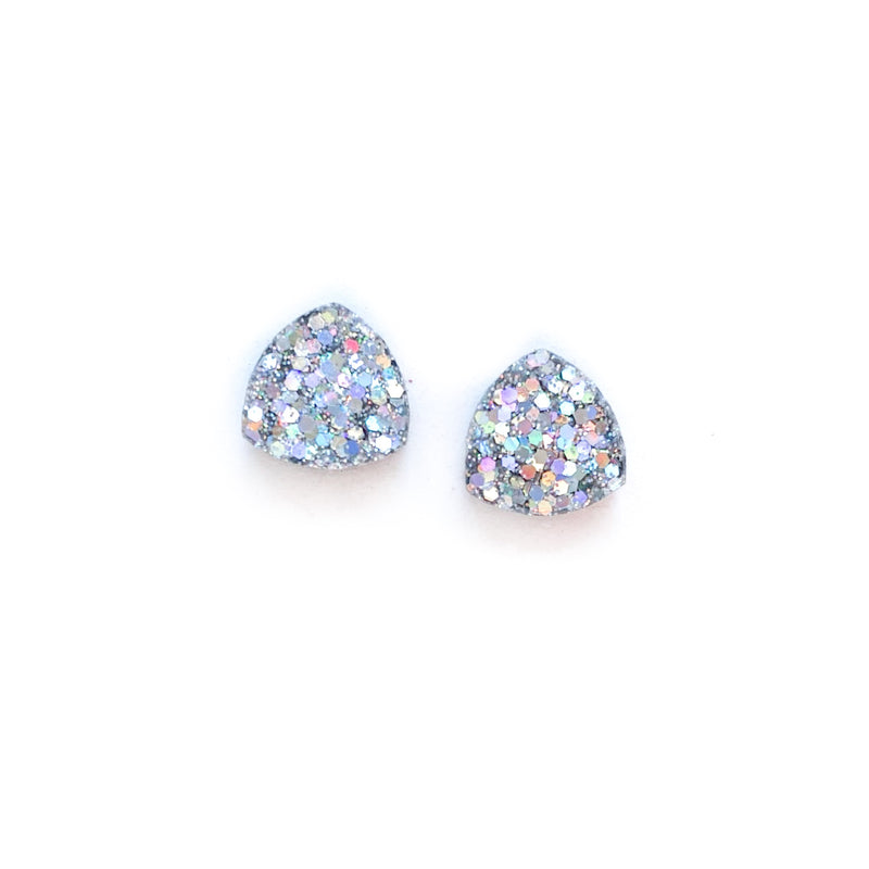 Spoil Me With Diamonds Glitter - Nugget Studs