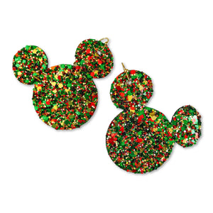 Holly Jolly Glitter - Mouse Ear Drops