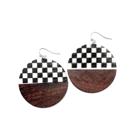 Checker & Wood Rounds