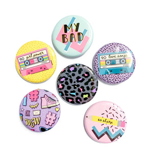 The 90's Are Calling Pins - You Choose