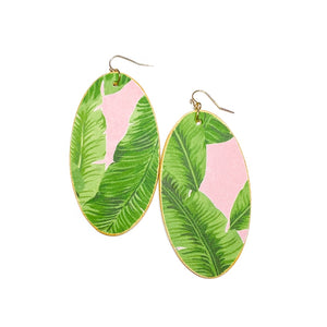 Palm Leaves - Oval Timbers