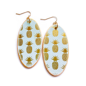 Mint Pineapples -  Oval Timbers