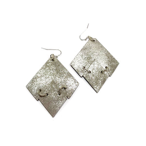 Rustic Patina - Diamond Drop Geometrics