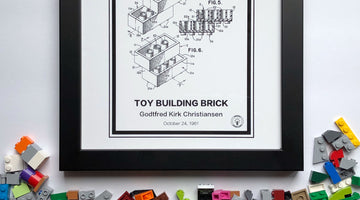 Introducing Lego Prints on Retro Patents